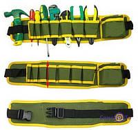 ЛУЧШАЯ ЦЕНА! Пояс с карманами для инструментов, сумка-пояс для инструментов 6000990 пояс для инструментов, сумка для инструмента на пояс, сумка пояс