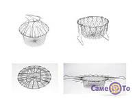Дуршлаг Chef Basket  - 6000136 - дуршлаг для фритюра, универсальный дуршлаг, фритюрница дуршлаг, Chef Basket, сито кухонное, сито в