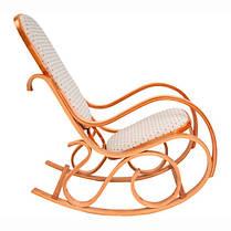 Кресло качалка PBT Group светлое ткань точки, фото 3