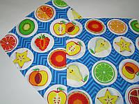 Кухонное вафельное полотенце (35х56 см) код 0095