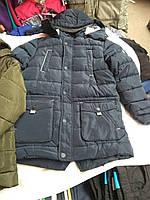 Зимняя куртка парка на мальчика на холлофайбере (Венгрия)