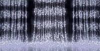 Новогодняя светодиодная гирлянда Водопад 300 LED 3х1 м: мульти, синяя, белая 4001158 Светодиодная гирлянда водопад, светодиодный водопад, Гирлянда