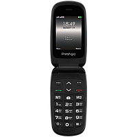 Телефон-раскладушка Prestigio PFP1242 Grace B1 чёрный