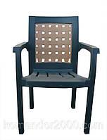 Кресло пластиковое Хризантема