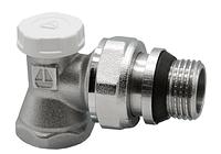 Кран HLV для радиаторов под ключ угловой 3/4'' (107009а) шт