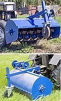 Мульчирователь (мульчер) растительных остатков для мотоблока, мототрактора