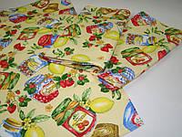 Кухонное вафельное полотенце (36х76 см) код 0099