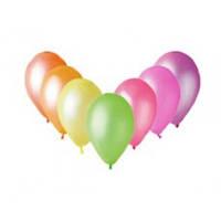Воздушные шары  латексные неоновые ассорти 30 см.