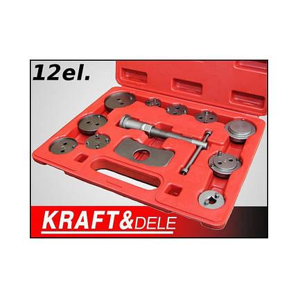 Комплект для замены тормозных колодок 12el. KD10214, фото 2