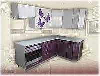 Кухня угловая модульная София Олива 2х1,4м