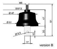 Ограничитель перенапряжения ASA-A 660-10B