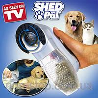 ТОП ВЫБОР! Машинка для вычесывания шерсти Shed Pal - 4000279 - щетка для животных, расческа для животных, машинка для кошки, вычесывание шерсти собак,