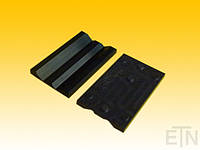 Вкладыш EM 5 PEE для HSM + WSM, для рельсов 5 мм, 140 x 29,5 x 30 мм, запчасти-E, спецификация. Сопротивление поверхности 10 ^ 7 Ом (DIN IEC 60093),