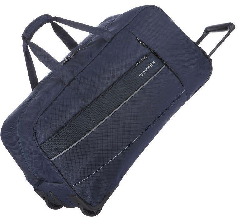 bc794dad3ab9 Дорожная сумка на колесах 68 л, Travelite Kite TL089901-20, синий ...
