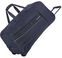 Дорожная сумка из текстиля на 68 л, на 2-х колесах Travelite Kite TL089901-20, синий