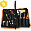 Паяльник с набором инструментов (23 в 1) для пайки и ремонта электроники, Jakemy JM-P04