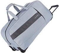 Дорожная сумка из текстиля на 68 л, на 2-х колесах Travelite Kite TL089901-56, серый