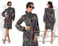 Осеннее женское платье размер 42-46