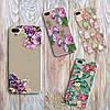 Чехол для Meizu MX5 MX6 силиконовый цветы , фото 2