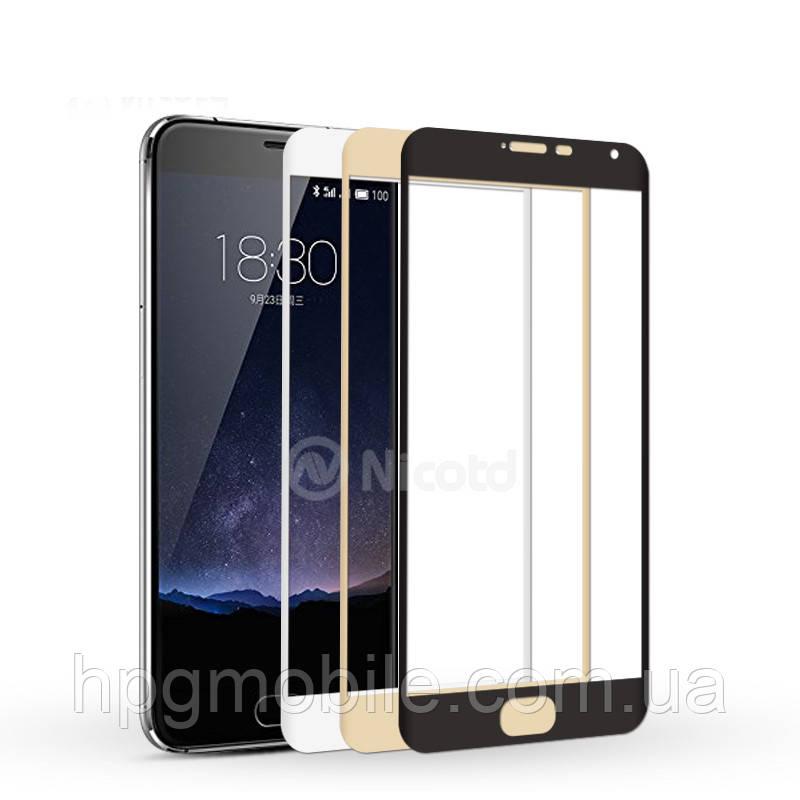 Защитное стекло 3D для Meizu M5c  - HPG 3D Tempered glass 0.3 mm, разные цвета