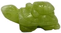 Статуэтка черепаха из нефрита, 45х20х25