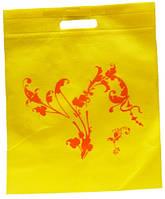 Пакет подарочный из ткани, для сменки или подарка 300х375х3