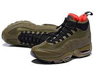 Nike Air Max 95 Sneakerboot Dark Brown/Red