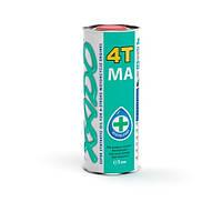 Моторное масло Хадо 4T 10w40 1л зеленая банка