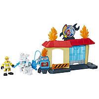 Игровой набор Боты-спасатели Гараж / Playskool Heroes Transformers , фото 1