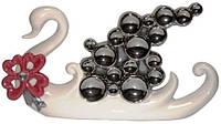 Статуэтка лебедь из керамики, 330х180х70