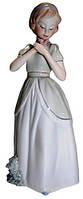 Статуэтка девочка из фарфора, 110х300х100