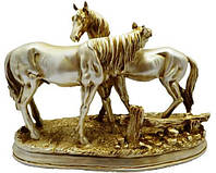 Статуэтка две лошади 270х200х110