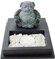 Подставка с песком для благовоний (арома палочек) 100х100х150