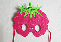 Карнавальная маска Малина