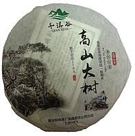 Пуэр шен, зеленый 357 грамм
