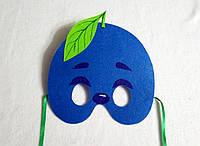 Карнавальная маска Слива