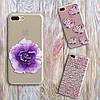 Чехлы для Samsung Galaxy J7 2016 (J710h) силикон цветы , фото 5