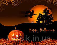 Вафельная картинка Halloween 10