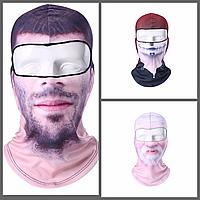 Подшлемник, маска, балаклава c принтом!