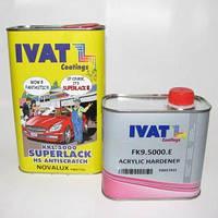Лак акриловый автомобильный IVAT HS 2+1 5000