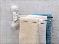 ТОП ЦЕНА! Вешалка для полотенец на 4 планки Towel Rack в ванную, 5001354, вешалка держатель, держатель для полотенец, Вешалка для полотенец на 4