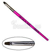 Кисть для геля YRE YKGR-04, розовая Y-31