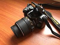 Дзеркальний фотоапарат Nikon D3000 18-55VR Kit Black, фото 1