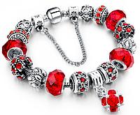 """Новогодние подарки -- Браслет """"Шарм"""" в стиле Пандора Pandora, женские браслеты, Браслет в стиле Пандора"""