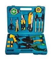 ТОП ЦЕНА! Набор инструментов для садовника - 16 предметов в кейсе, 1001510 набор садовых инструментов, набор инструментов