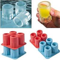 ТОП ЦЕНА! Формочки для льда Ледяная рюмка-стопка (силиконовые) 4001519 формочки для льда, формочки для льда силиконовые, необычные формы для льда,