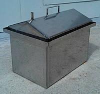 Коптилка домиком с гидрозатвором 56х30х28см