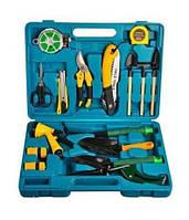 Набор инструментов для садовника - 16 предметов в кейсе, 1001510 набор садовых инструментов