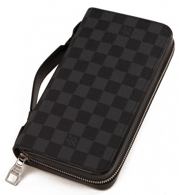 622d804f8ab5 Мужской клатч Louis Vuitton Lv41503G серый Копия - SUPERSUMKA интернет  магазин в Киеве