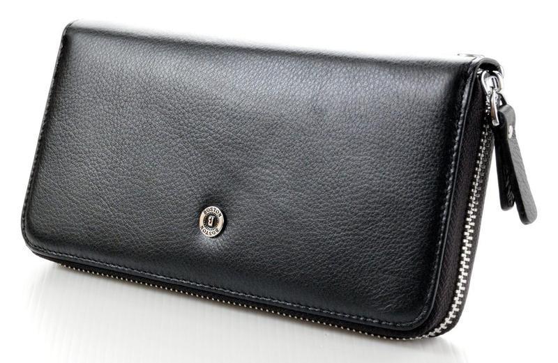 b7c134c8c213 Мужской кожаный клатч кошелек портмоне на молнии Boston. Хорошее качество.  Доступная цена. Дешево